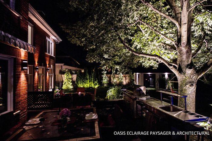 aménagement espace cuisine extérieur