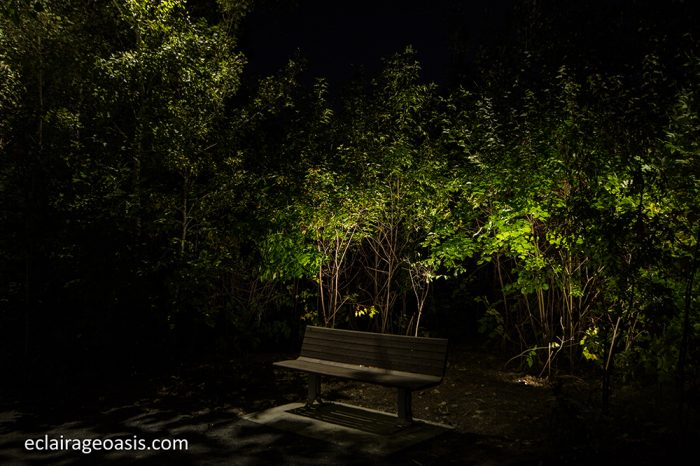 eclairage-paysager-banc-parc