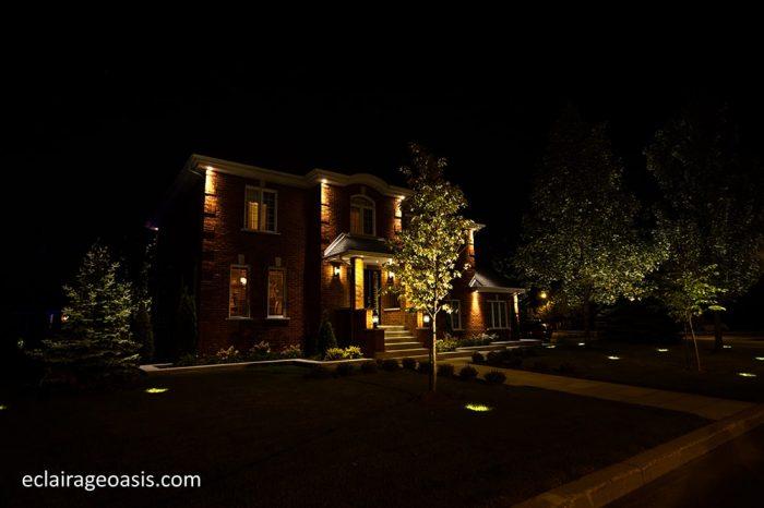 eclairage-paysager-devant-maison