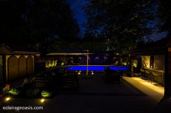eclairage-paysager-piscine