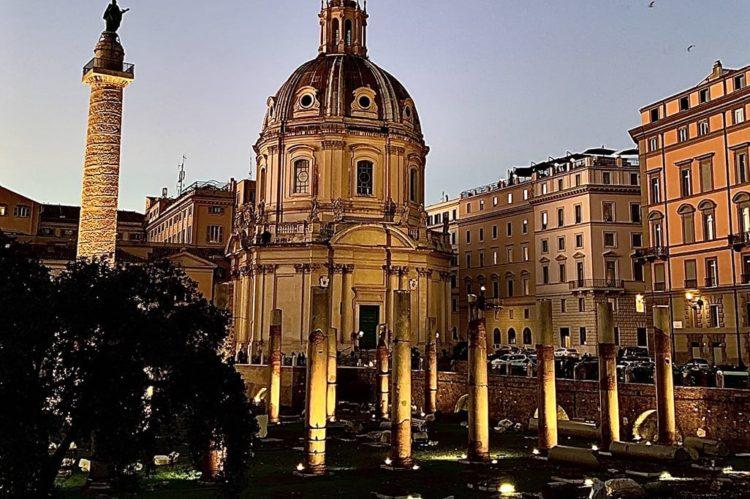 ROME, ITALIE.-eclairage