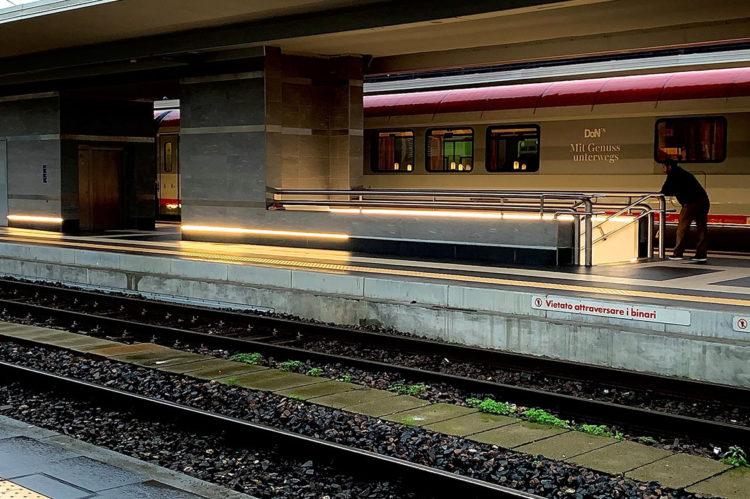 station de train, BOLOGNE, ITALIE