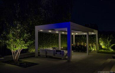 outdoor living éclairage exterieur quebec oasis