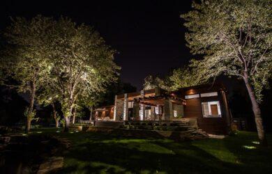 soir eclairage architectural